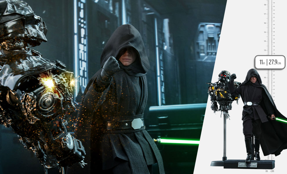 Gallery Feature Image of Luke Skywalker (Deluxe Version) (Special Edition) Sixth Scale Figure - Click to open image gallery