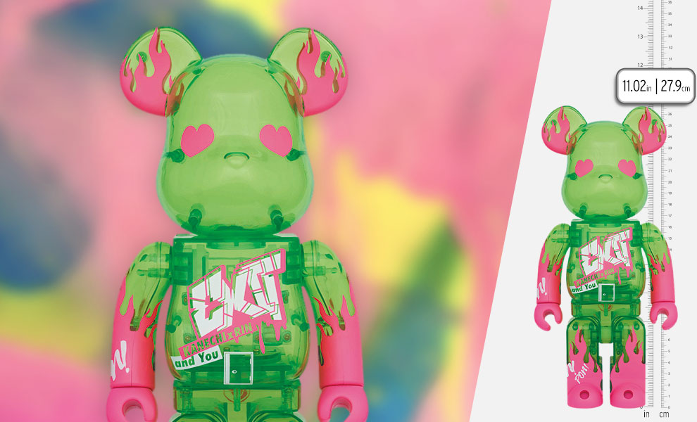 Gallery Feature Image of Be@rbrick Exit 400% Bearbrick - Click to open image gallery
