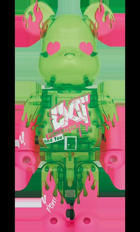 Medicom Toy Be@rbrick Exit 400% Bearbrick