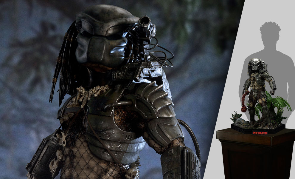 Gallery Feature Image of Jungle Hunter Predator (Deluxe Version) Statue - Click to open image gallery