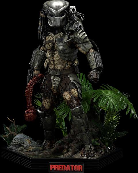 Prime 1 Studio Jungle Hunter Predator (Deluxe Version) Statue