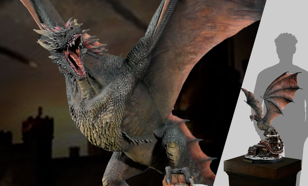 Gallery Feature Image of Drogon Statue - Click to open image gallery