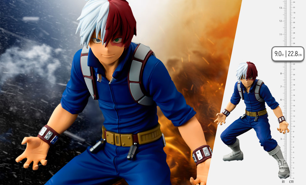 Gallery Feature Image of Shoto Todoroki (The Anime) Collectible Figure - Click to open image gallery
