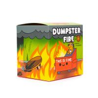 """Gallery Image of """"This is Fine"""" Dumpster Fire Vinyl Collectible"""