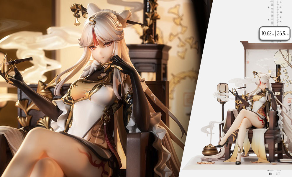 Gallery Feature Image of Ningguang Collectible Figure - Click to open image gallery