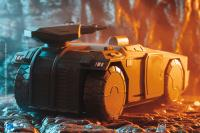 Gallery Image of Armored Personnel Carrier (Green Version) Figure