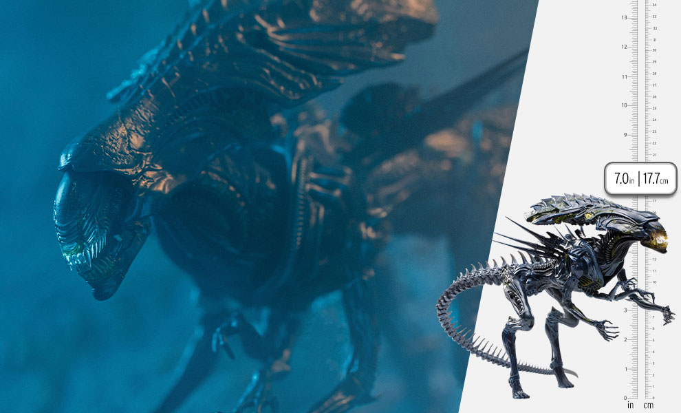 Gallery Feature Image of Alien Queen (Battle Damaged) Figure - Click to open image gallery