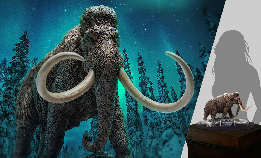 Gallery Feature Image of Woolly Mammoth Statue - Click to open image gallery