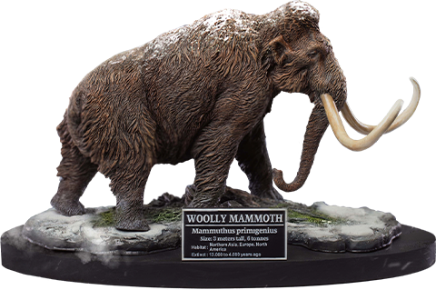 Star Ace Toys Ltd. Woolly Mammoth Statue