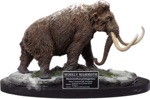 Woolly Mammoth Statue