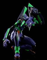 Gallery Image of Evangelion Test Type-01 + Spear of Cassius Collectible Figure