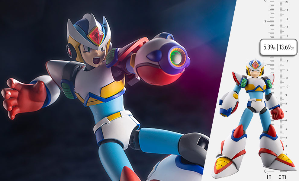 Gallery Feature Image of Mega Man X Second Armor Model Kit - Click to open image gallery