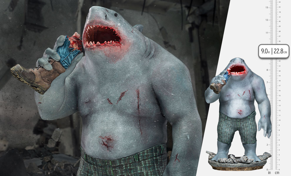 Gallery Feature Image of King Shark 1:10 Scale Statue - Click to open image gallery
