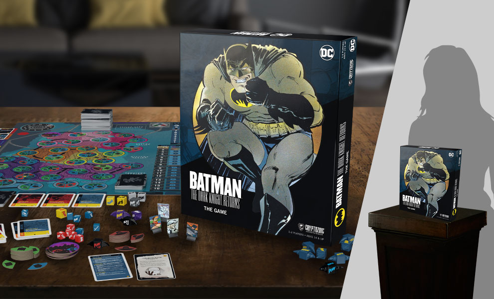 Gallery Feature Image of Batman: The Dark Knight Returns the Game Board Game - Click to open image gallery