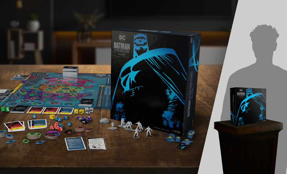 Gallery Feature Image of Batman: The Dark Knight Returns the Game Deluxe Edition Board Game - Click to open image gallery
