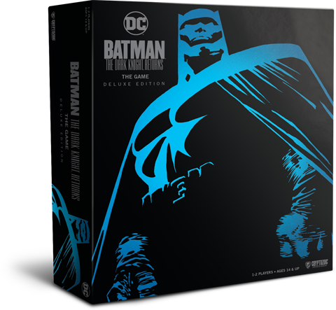 Cryptozoic Entertainment Batman: The Dark Knight Returns the Game Deluxe Edition Board Game