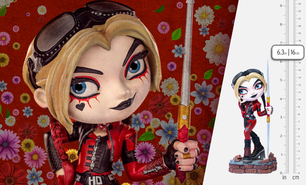 Gallery Feature Image of Harley Quinn – The Suicide Squad Mini Co. Collectible Figure - Click to open image gallery