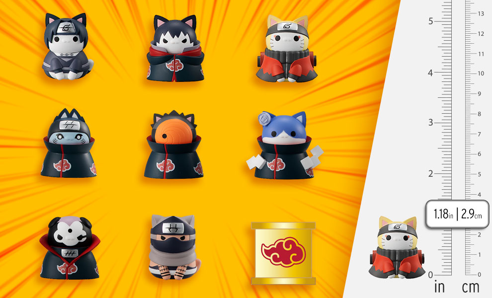 Gallery Feature Image of Nyaruto Defense Battle of Village of Konoha Collectible Set - Click to open image gallery