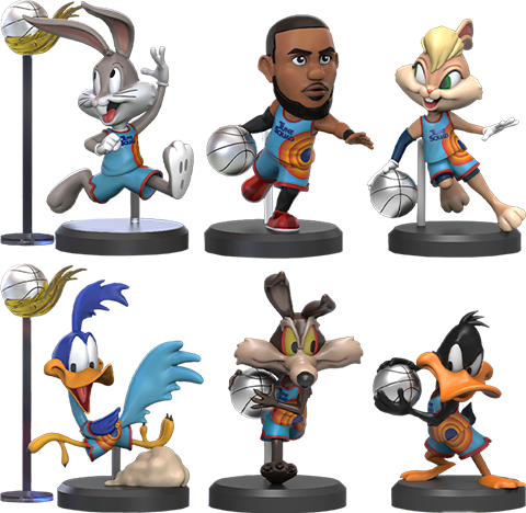 Beast Kingdom Space Jam A New Legacy Series Collectible Set