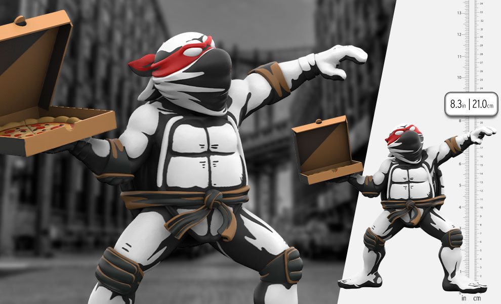 Gallery Feature Image of Teenage Mutant Ninja Turtles: Pizza Bomber Vinyl Collectible - Click to open image gallery