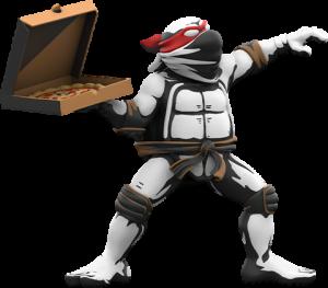 Teenage Mutant Ninja Turtles: Pizza Bomber Vinyl Collectible