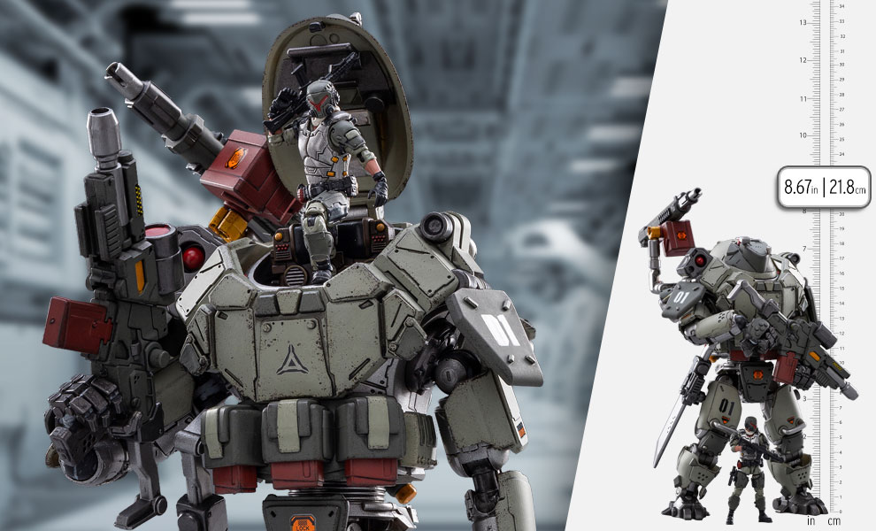 Gallery Feature Image of Iron Wrecker 01-Assault Mecha Collectible Figure - Click to open image gallery