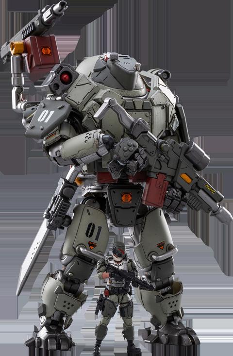 Joytoy Iron Wrecker 01-Assault Mecha Collectible Figure