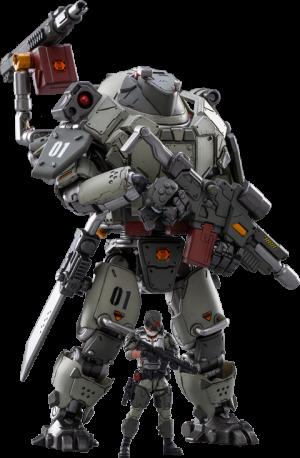 Iron Wrecker 01-Assault Mecha Collectible Figure