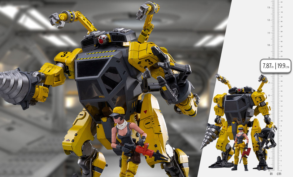 Gallery Feature Image of North 03 (Maintenance Mech) Collectible Figure - Click to open image gallery
