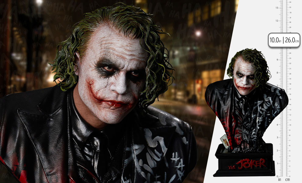 Gallery Feature Image of The Joker Bust - Click to open image gallery
