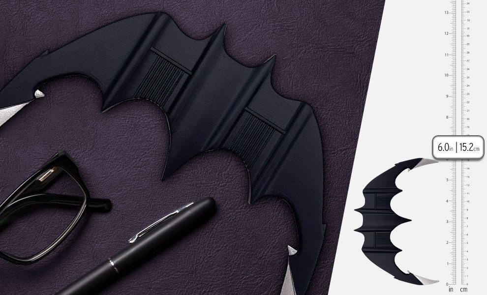 Gallery Feature Image of Batarang Prop Replica - Click to open image gallery
