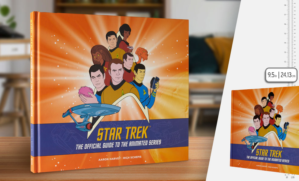 Gallery Feature Image of Star Trek: The Official Guide to the Animated Series Book - Click to open image gallery