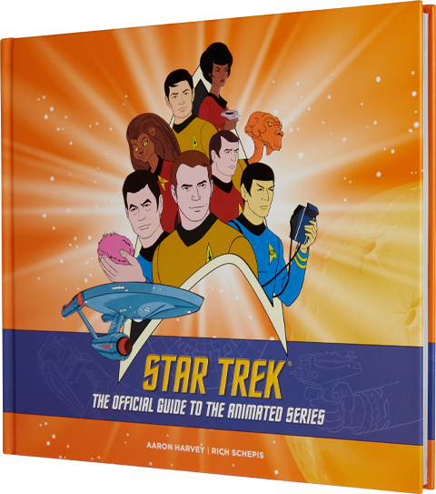 Insight Editions Star Trek: The Official Guide to the Animated Series Book