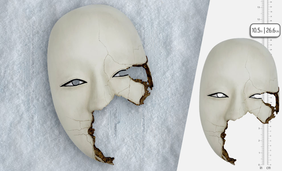 Gallery Feature Image of Safin Mask (Fragmented Version) Limited Edition Prop Replica - Click to open image gallery