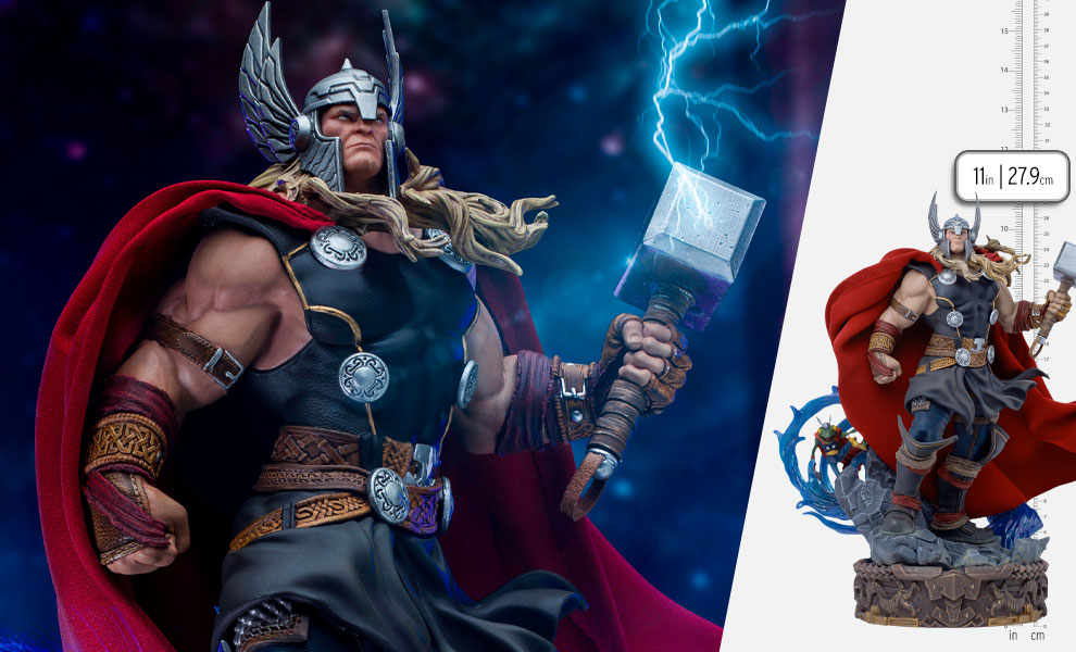 Gallery Feature Image of Thor Unleashed Deluxe 1:10 Scale Statue - Click to open image gallery