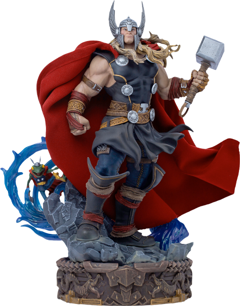 Iron Studios Thor Unleashed Deluxe 1:10 Scale Statue