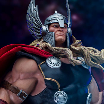 Thor Unleashed Deluxe 1:10 Scale Statue