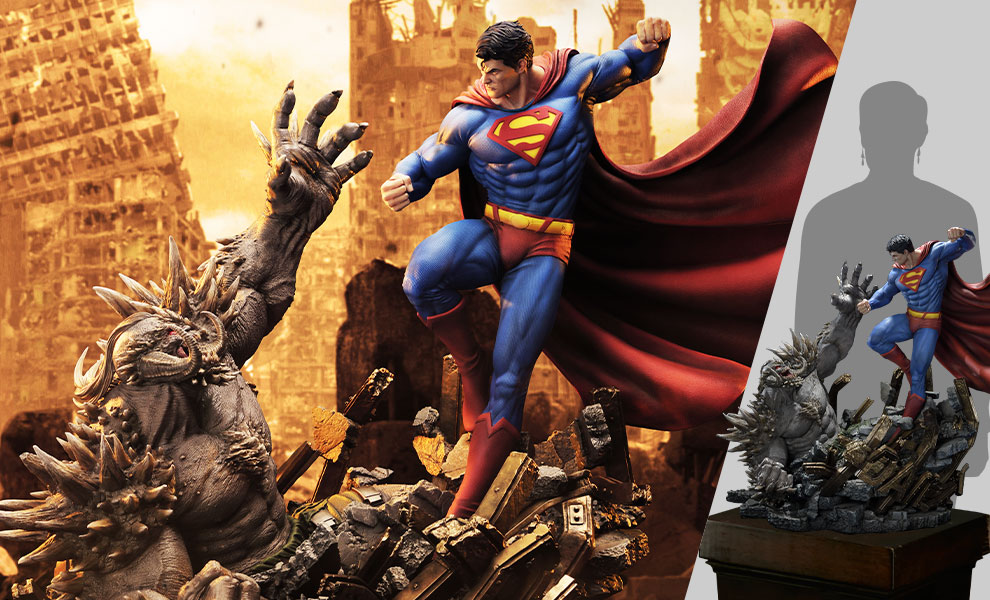 Gallery Feature Image of Superman VS Doomsday Statue - Click to open image gallery