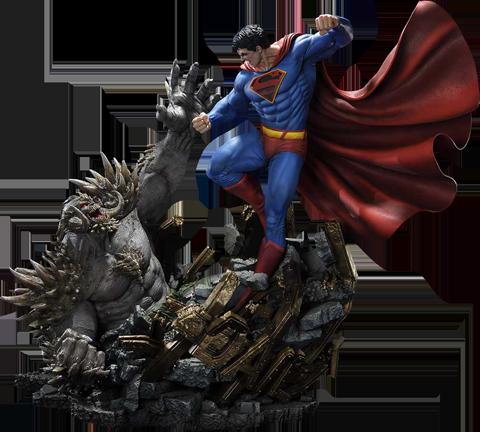 Prime 1 Studio Superman VS Doomsday (Deluxe Bonus Version) Statue