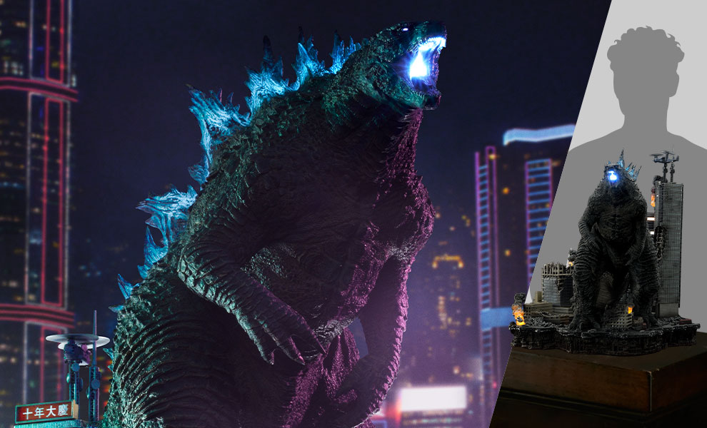 Gallery Feature Image of Godzilla Final Battle Diorama - Click to open image gallery