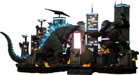 Prime 1 Studio Godzilla vs Kong Final Battle Diorama