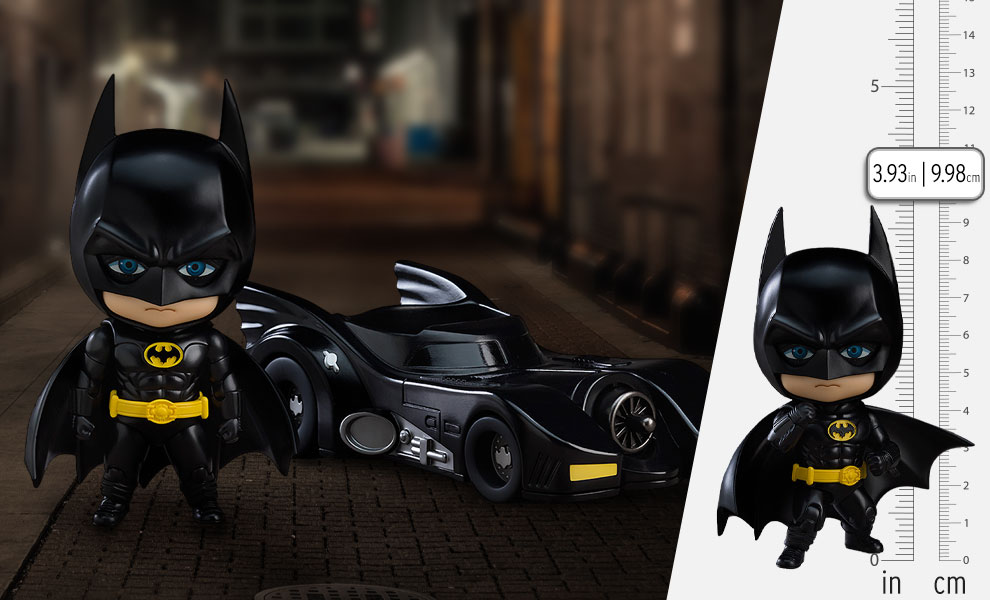Gallery Feature Image of Batman: 1989 Version Nendoroid Collectible Figure - Click to open image gallery