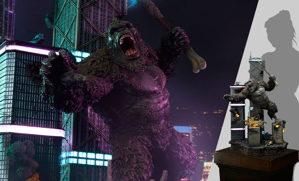 Gallery Feature Image of Kong Final Battle Diorama - Click to open image gallery