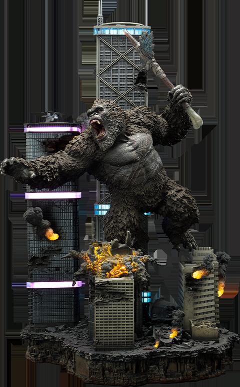 Prime 1 Studio Kong Final Battle Diorama