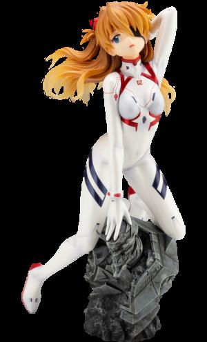 Asuka Shikinami Langley White Plugsuit Version Statue