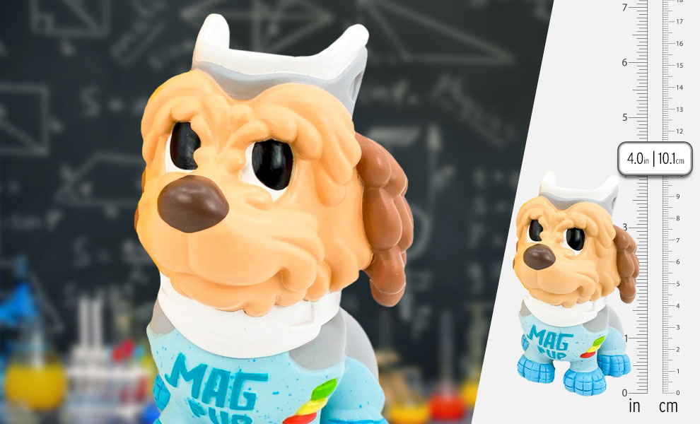 Gallery Feature Image of Einstein Mag Pup Vinyl Collectible - Click to open image gallery