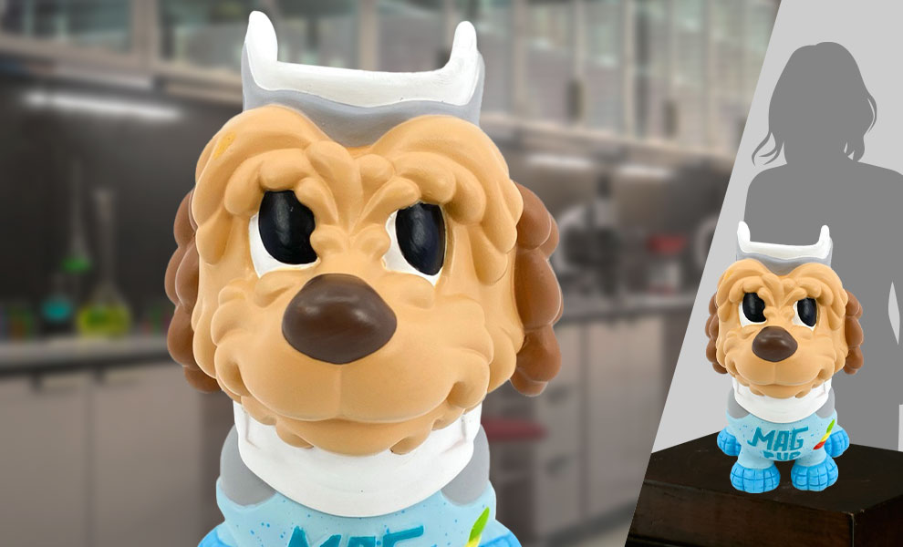 Gallery Feature Image of Einstein Mag Pup Life-Size Figure - Click to open image gallery