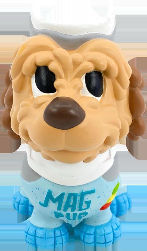 3D Retro Einstein Mag Pup Life-Size Figure