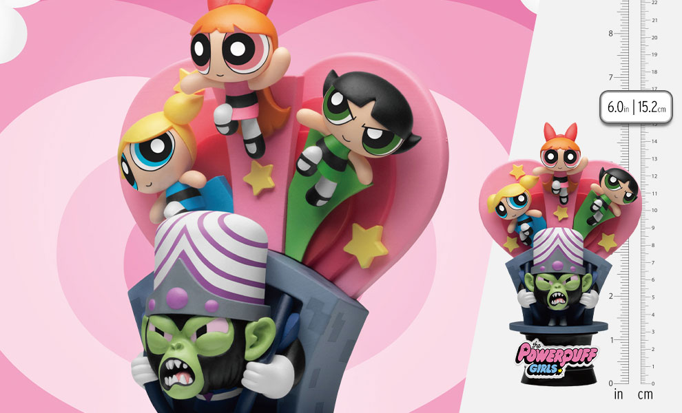 Gallery Feature Image of The Powerpuff Girls Have a Nice Day D-Stage Statue - Click to open image gallery