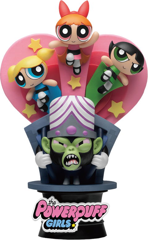 Beast Kingdom The Powerpuff Girls Have a Nice Day D-Stage Statue